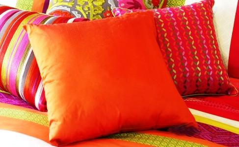 come creare e cucire un cuscino da poltrona